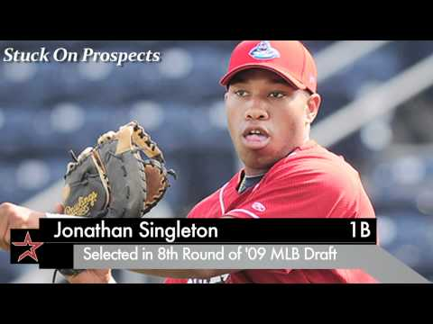 1B Jonathan Singleton, Astros: Off to Hot Start