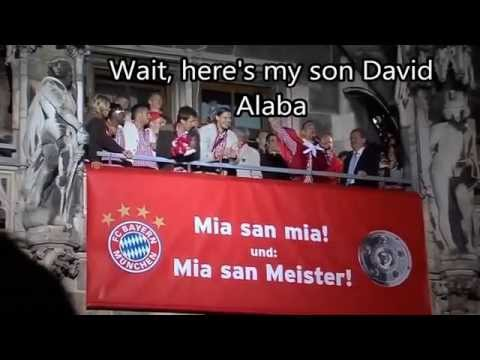 Franck Ribery and David Alaba two Bayern Munich Brother