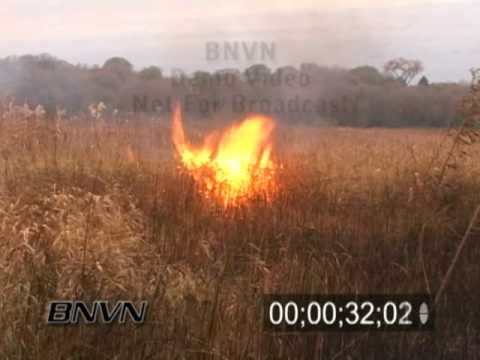 10/24/2006 Wild Fire Video and Controlled Burn Footage. Part 1 of 4