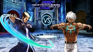 [KOF Memorial Lv.2 SP] Lord Goenitz vs Boss Mizuchi