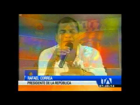 Correa presidirá el Consejo Directivo de Lucha Contra las Drogas