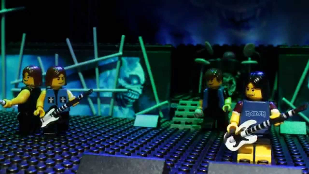 IRON MAIDEN - ROCK IN LEGO