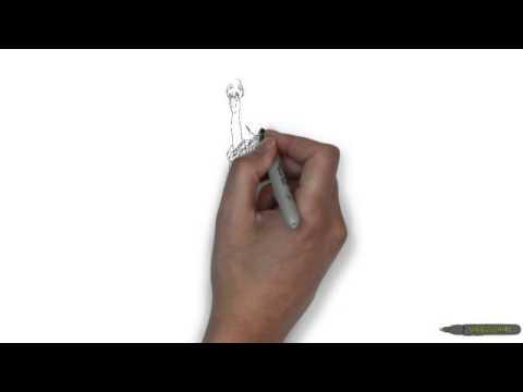 Видео как нарисовать статую Свободы поэтапно
