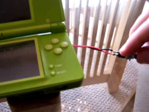 Nintendo DS Lite ghetto power switch