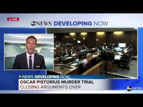 Defense Makes Closing Arguments in Pistorius Murder Trial