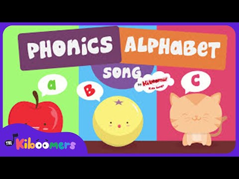 The ABC Song for Children  Phonics  Alphabet Song  The Kiboomers
