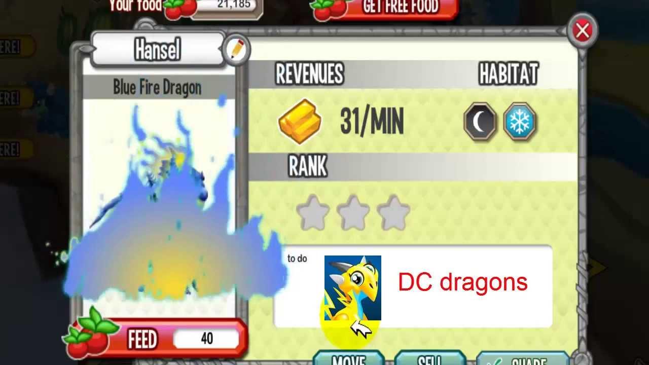 Blue Fire Dragon Blue Fire Dragon Dragon City
