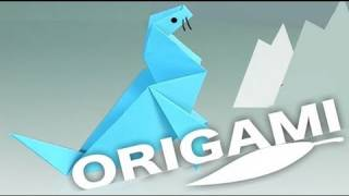 A Paper Seal. Origami Step By Step. How To Make