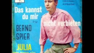 Das kannst Du mir nicht verbieten - Bernd Spier - ( You Can Never Stop Me Loving You)
