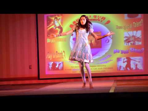 Aarya Regmi Dancing on Talent Show - ANMA 2012