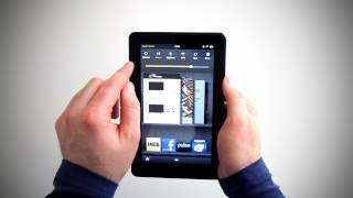 Kindle Fire Unboxing & Browser Test