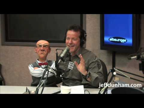 Jeff Dunham & Walter on the Bob & Tom Radio Show Pt. 1