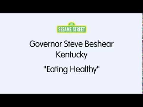 Sesame Street / Governor Steve Beshear : Eating Healthy