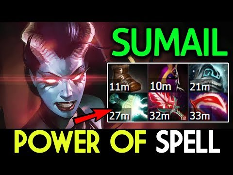 SUMAIL Dota 2 [Queen of Pain] Power of Spell Lifesteal