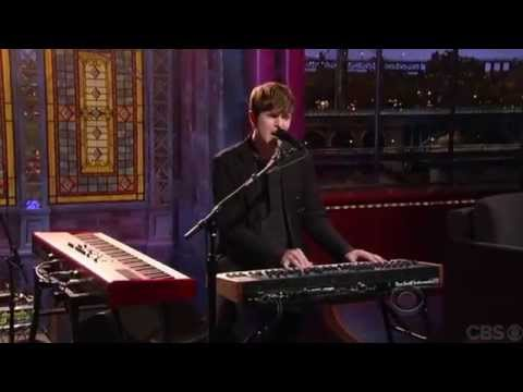 James Blake - Retrograde (Live on David Letterman)