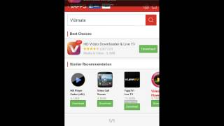 How to download Free HD videos in mobile  Vidmate