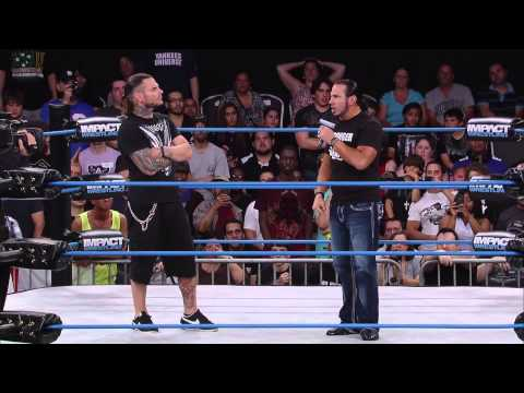Matt Hardy Returns And Joins Jeff Hardy at IMPACT WRESTLING (July 24, 2014)