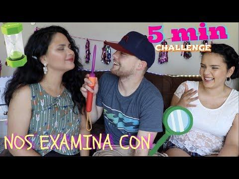 Reto: MAQUILLAJE DE 5 MINUTOS  ⏰💄/ CHRIS NOS EXAMINO??😱🔎/ Zulma Martinez