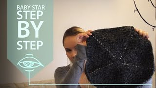 Baby bunting star - step by step (part 1)