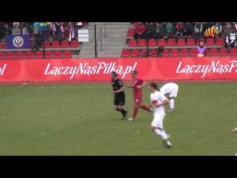 Polska   Serbia 12 11 2015 stadion w Brzegu