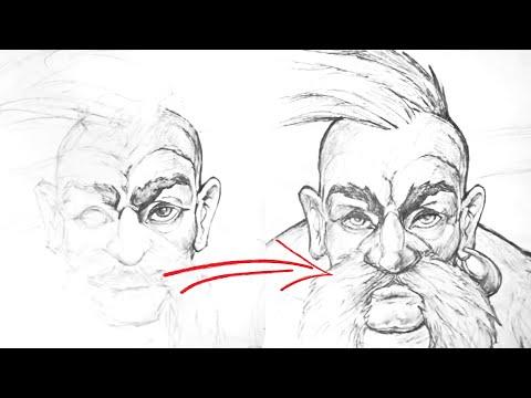 Як малювати козака (how to draw a cossack)