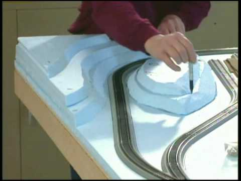 Build a model train layout: Model r