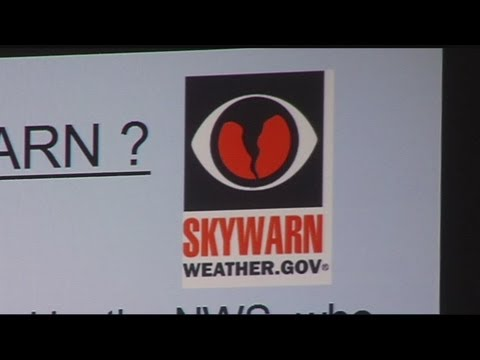Skywarn spotter training from NOAA