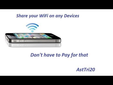How To Setup Internet Tethering & Hotspot For iPhone 5/4S/4/3GS With Any iOS - For Free