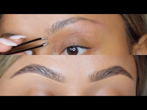HOW TO: PERFECT BROWS   TWEEZE. TRIM & SHAPE