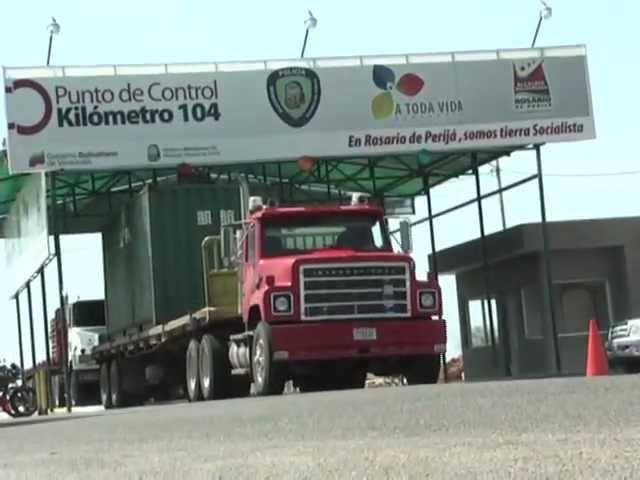 CUÑA CONSTRUCCIÓN DEL PUNTO DE CONTROL POLICIAL 104
