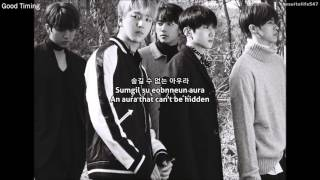 B1A4 - Good Timing (Hangul, Romanization, Eng Sub)