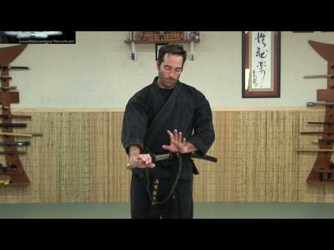 Katana - Noto - Sword Retrieval - Machida - Ninja Training Free Video - Learn Ninjutsu Image 1