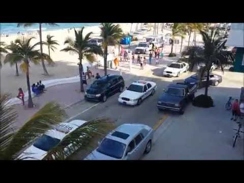 Fort Lauderdale Police Attacked, Las Olas & A1A