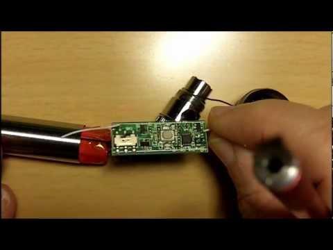 Repair evod battery instructions