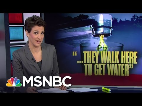 Flint Water Donations Run Dry, No State Plan | Rachel Maddow | MSNBC
