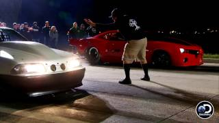 Watch Chuck Take The Win By A Fender | Street Outlaws