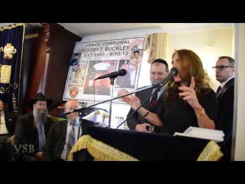 Pamela Geller's Banned Synagogue Talk, April 14, 2013