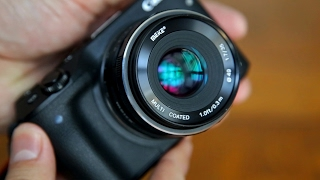 Meike 35mm f/1.7 lens review with samples