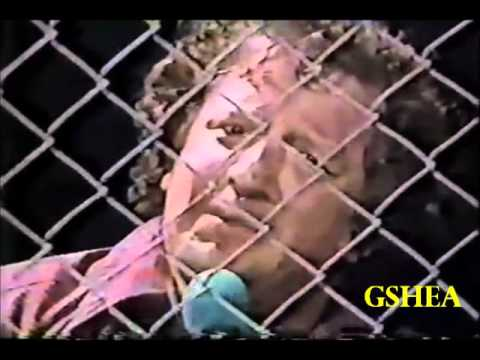 Florida Wrestling: Terry Funk vs. Bruce Walkup - Empty Arena Cage Match
