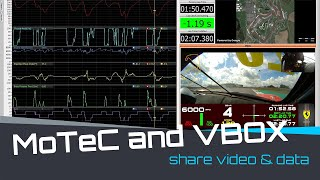 Compatibility between MoTeC and VBOX Video HD2