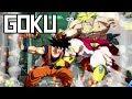 DBFZ: Base Goku Combos + Hype! (100% Combo!)