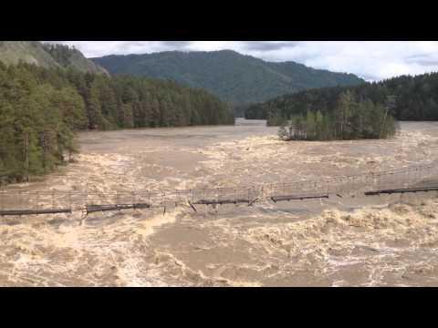 наводнение на Алтае. Катунь