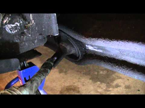 Rear Trailing Arm Bushing Replacement - Honda