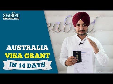 Kuldeep Singh Australia Study Visa   Visa Grant in 14 Days   Canada Refused