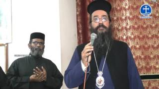 Arch Bishop Makarios Visit Parumala Church