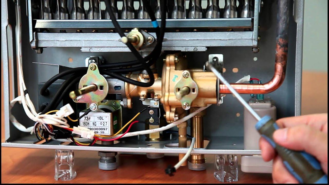 Ремонт китайской газовой колонки своими руками видео