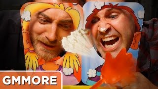 Playing Pie Face Showdown