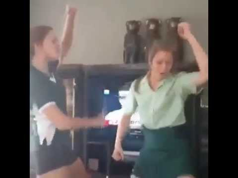 White Chics Dance To Y Tjukutja video