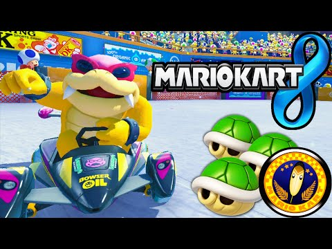 Mario Kart 8: Feather Cup Tournament Online 150cc Roy Gameplay Walkthrough PART 19 Wii U HD