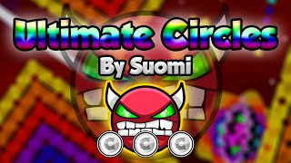 NINE CIRCLES RAINBOW! Geometry Dash [2.0] (Demon) - Ultimate Circles by Suomi - GuitarHeroStyles